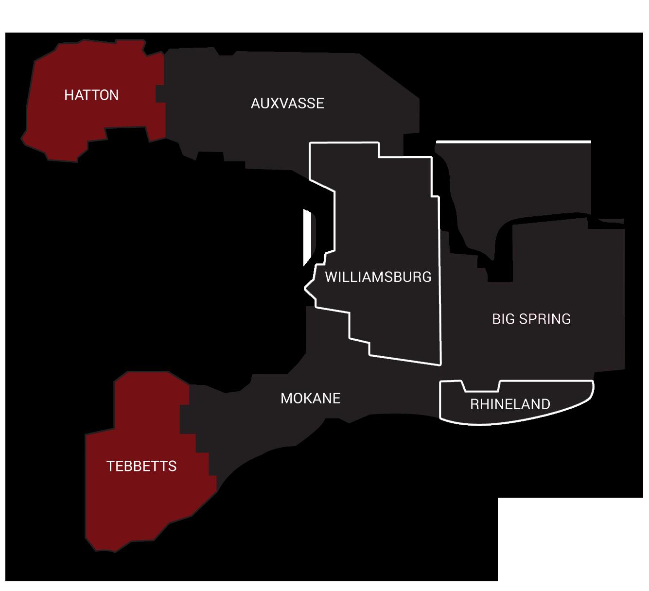 Kingdom Telephone Co. coverage map 2019