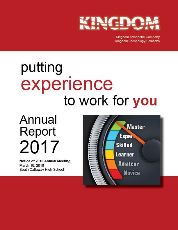 Kingdom Telephone 2017 Annual Report