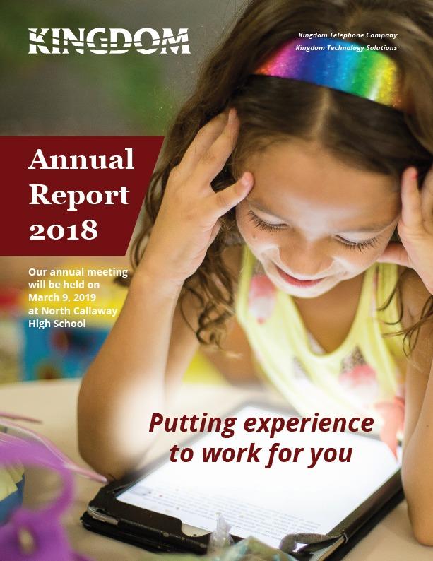 Kingdom Telephone 2018 Annual Report
